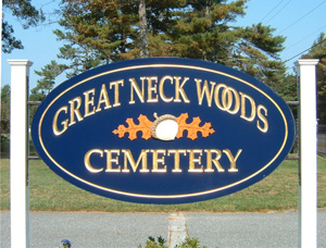 Great Neck Woods Cemetary